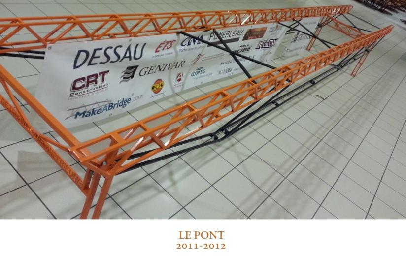 le pont 2011-2012